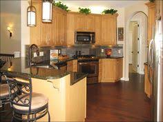 colors that go with honey oak cabinets design in wood