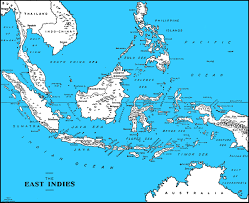 netherlands east indies map hyperwar islands and peoples of the indies