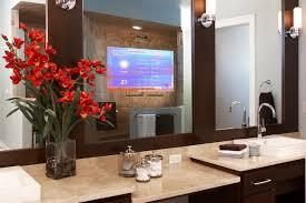 Two Way Mirror Bathroom by Tv Behind Mirror 2 Way Mirror Tv Bathroom Lcd Tv