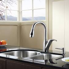 stainless kitchen faucet pgr home design