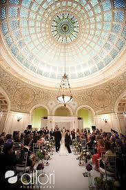 wedding venues in chicago chicago cultural center wedding ceremony pictures chicago