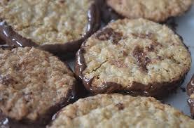 cuisiner flocon d avoine recette de galettes suédoises à l avoine et au chocolat