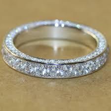 aliexpress buy 2ct brilliant simulate diamond men superb 3 5mm luxury quality nscd simulated diamond vintage