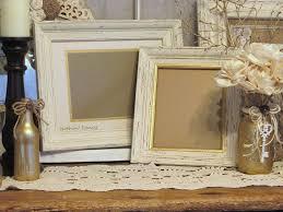 distressed wood frames set of 2 wood frames wedding frame set