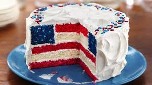 celebrate july 4th with a red white and blue flag cake priority