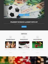 online gambling html template gambling website templates