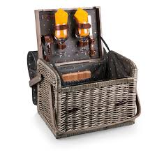 wine picnic baskets picnic time kabrio picnic basket with wine and