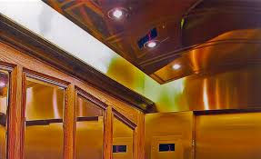 Houses With Elevators Mirrored Brass Concave Ceiling At Uoft U0027s Historical Hart House