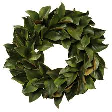seymour botanicals magnolia leaf wreath reviews wayfair