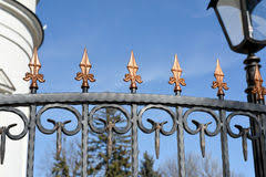 decorative metal fence ornaments stock images 202 photos