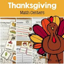 thanksgiving math centers by renee dooly teachers pay teachers
