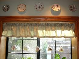 diy window valance dishes and designs