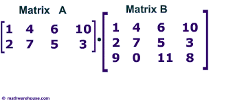multiplication questions matrix multiplication how to multiply two matrices together 1st