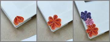 Making Of Flowers With Paper - how to make a paper quilled photo frame paper crafts craftbits com