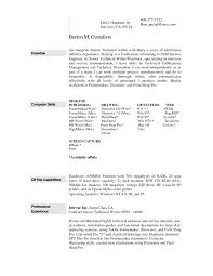 Experience In Resume Example by Curriculum Vitae Example Of Experience In Resume What Is