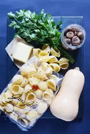 comment cuisiner courge butternut gratin de lumaconi farcis courge butternut et châtaignes recette