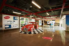 the wow factor inside the garage capital one plano u0027s center of