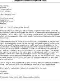 cover letter 48 nursing cover letter examples how to write a