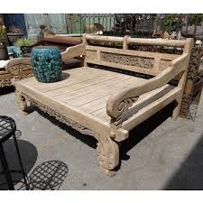 teak carved daybed full size furniture mix furniture