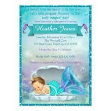 mermaid baby shower the sea baby shower invitations babyshowerinvitations4u