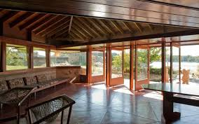 frank lloyd wright home interiors island with a pair of frank lloyd wright homes lists for 15m