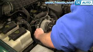 how to install replace alternator ford explorer ranger truck van