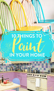 10 small paint projects to transform your home