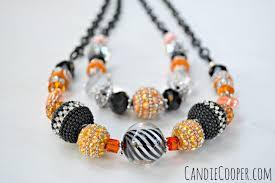 diy halloween party jewelry candie cooper