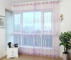 decoration window treatment with window drapes and cream brown