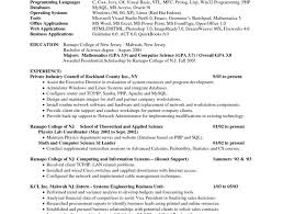 Resume Example For Freshers Engineers by Resume For Freshers Bsc Computer Science 100 Resume Format For