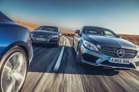 on the road review infiniti mercedes amg c43 coupe vs audi s5 coupe vs infiniti q60 s sport