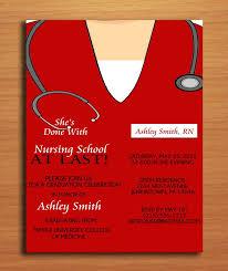 nursing graduation invitation templates dhavalthakur com