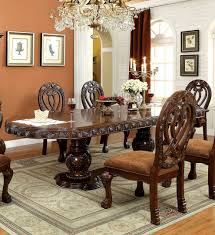 Cherry Wood Dining Room Furniture Cherry Wood Dining Table Glass Top Elegant But Relaxed Cherry
