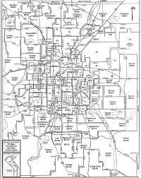 denver city zip code map