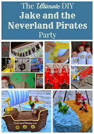 east coast mommy ultimate diy jake neverland pirates