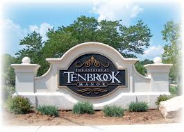 Decorative Signs For The Home Wooden Apartment Signs Hoa Signs Condominium Signage Community