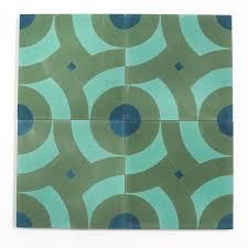 cement tile big spin 8 x8 encaustic cement tile stock constructivist pattern