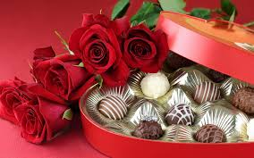 flowers and chocolate chocolates and flowers hd wallpapers