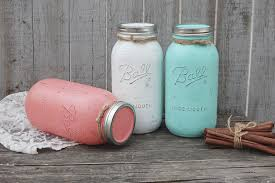 large mason jar canister set kitchen storage jars shabby