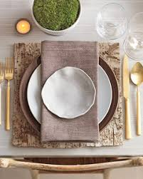 table setting placemat bark table setting martha stewart