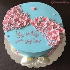 stylish birthday cake editing online name generator