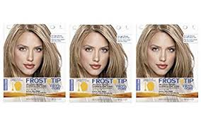 highlights vs frosting of hair clairol nice n easy frost and tip hair highlights creme 1 kit
