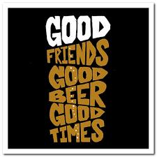 type club card good friends good beer good times birthday card