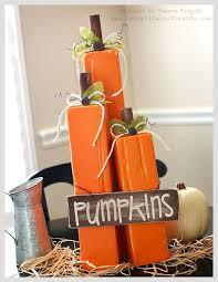 25 unique wooden pumpkin crafts ideas on fall wood