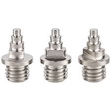 6 mm cylinder nails 14x replacement spikes for athletics spikes