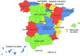 Spain Maps by Ccaa Spain U2022 Mapsof Net