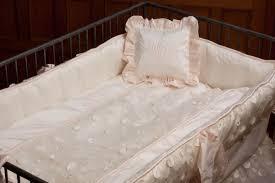 lulla smith baby bedding lausanne linen set dupioni silk