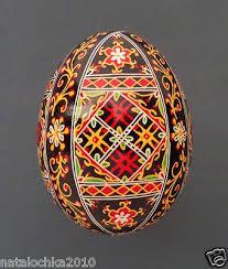 Easter Egg Decorations Ebay by 53 Best Pysanky 3 Color Images On Pinterest Egg Art Easter Eggs