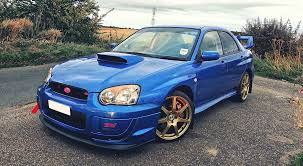 blue subaru gold rims my subaru impreza wrx sti type uk ppp impreza co