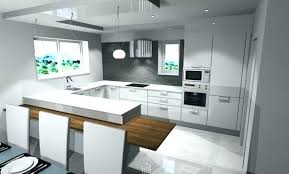 deco cuisine blanche et grise modele amenagement cuisine modele deco cuisine fabulous idee deco